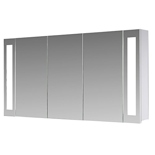 Flacher Spiegelschrank - Superflach 120 cm - San Francisco