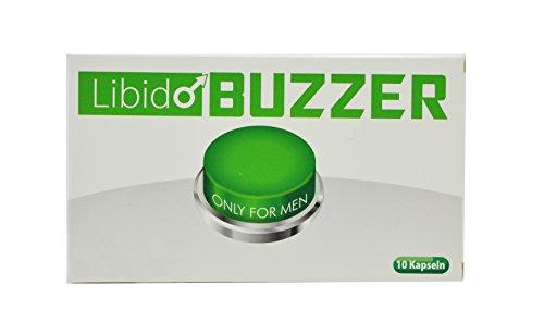 Libido Buzzer Green Männer-Kapseln – 10 Männer-Pillen Männer-Mittel I natürliches und rezeptfreies Präparat für den Mann I 100% Pflanzlich – Für Lust, Liebe, Leidenschaft und mehr …
