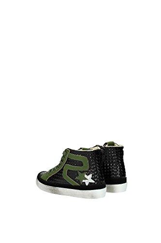 2SB574NEROVERDE 2Star Sneakers Garçon Caoutchouc Noir Noir