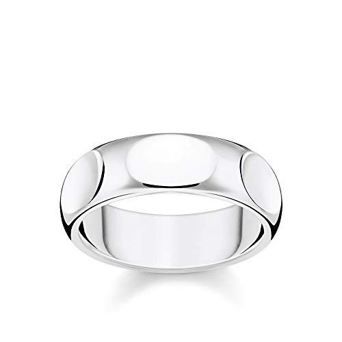 Thomas Sabo Unisex-Ring Puristisches silber 925 Sterlingsilber TR2281-001-21-48