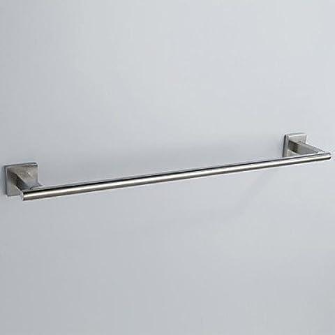 304 in acciaio inox al nichel spazzolato singola barra di tovagliolo