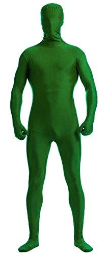 Howriis, Ganzkörper-Lycra-Spandex-Anzug für Erwachsene und Kinder, unisex Gr. Kinder Medium, grün