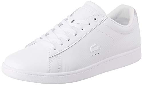 Lacoste Herren Carnaby Evo 319 9 SMA Sneaker, Weiß White 21g, 42 EU 9 Sneakers