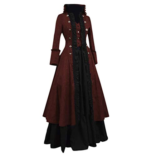Jungen Kostüm 1950's - DQANIU Frauen Kleid, Plus Size Frauen Mode Kleid Vintage Kleid Cosplay Party Abend Nacht Formale Lange Party Kleid 2-teiliges Set