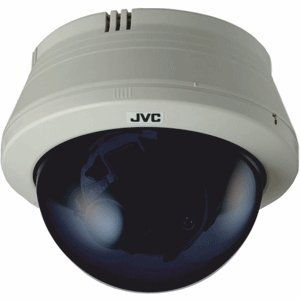 JVC TKC215VP4 External Colour/Monochrome (Day & Night) Fixed CCTV Dome Camera 12/24V