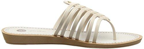 Grendha Strings Thong Fem Damen Zehentrenner Weiß (white 8285)