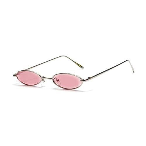 YIWU Brillen Europa und Amerika Sonnenbrillen Weibliche koreanische Version der Flut Retro-Harajuku-Stil Street-Beat Hip-Hop Vibrato Schmales Gestell 2019 Neue Sonnenbrille Frauen Brillen & Zubehör