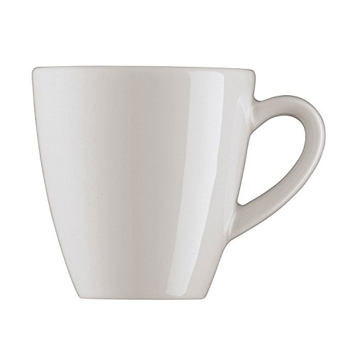 Arzberg Profi Tasse à Expresso, Tasse, Haute, Tasse Expresso, Virgin White, Porcelaine, 9 cl, 49600-800001-14903