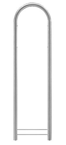 Bobi Round Verzinkter Stahl Briefkastenständer