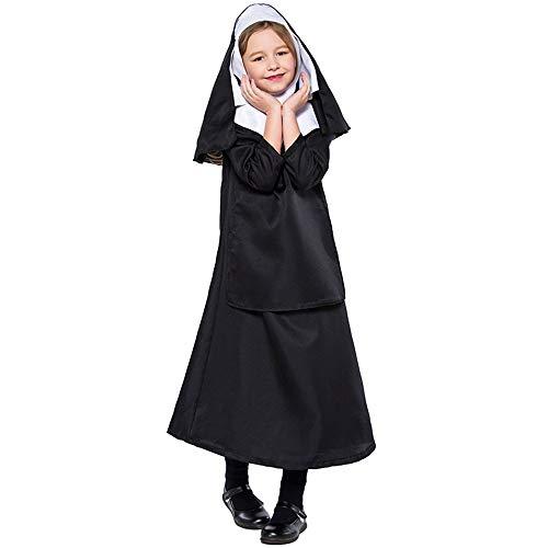 Kleinkind Märchen Klassiker Kostüm - MAATCHH-TGKT Halloween Kostüm- Mädchen Halloween Nonne