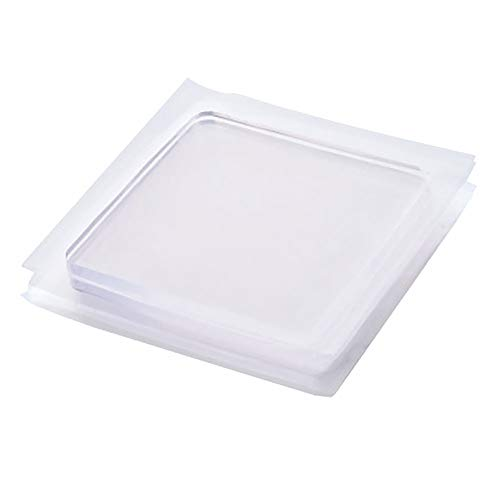 SYN Anti-Vibrations-Pad, tragbare Silikon-Matte für Kühlschrank und Kühlschrank, Anti-Shock-Pad, geeignet für Zuhause, Wohnzimmer, Küche, 4 Stück, durchsichtig, Free Size - 4 Stück Wohnzimmer