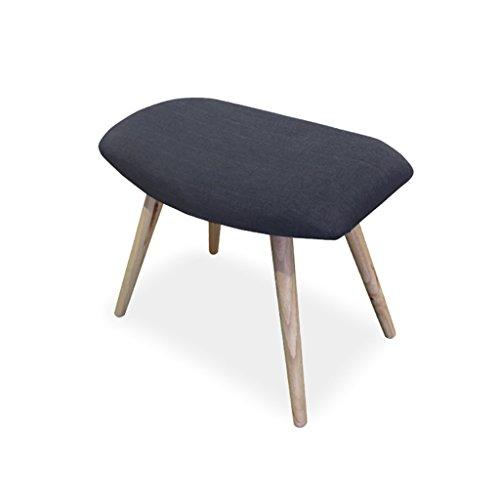 Preisvergleich Produktbild LXJYMX Wohnzimmer Hocker Sofa Stuhl passenden Schürze Hocker modernen minimalistischen Schlafzimmer Wohnzimmer Schuhe niedrigen Hocker (Farbe : E)