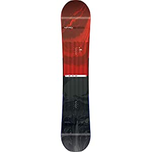 Nitro Snowboards Herren Team '19 Vielseitiges All Mountain Snowboard Freestyle Freeride Directional Twin Standard Camber Board
