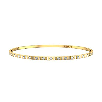 Candere By Kalyan Jewellers Contemporary Collection 22k Yellow Gold Anarkali Bangle