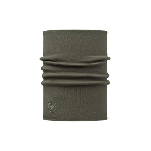 Buff Heavyweight Merino Wool Neckwarmer Schlauchschal Forest Night, one Size