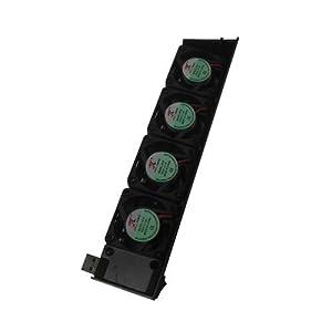 OSTENT USB Cooling Cooler Lüfter 4-Lüfter Automatische Temperatur Einstellbar Kompatibel für Sony PS3 Konsole