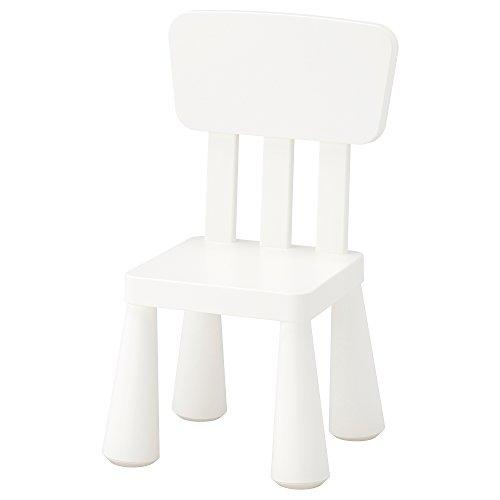 Ikea Mammut - Silla Infantil para Interior y Exterior, Color Blanco (1...
