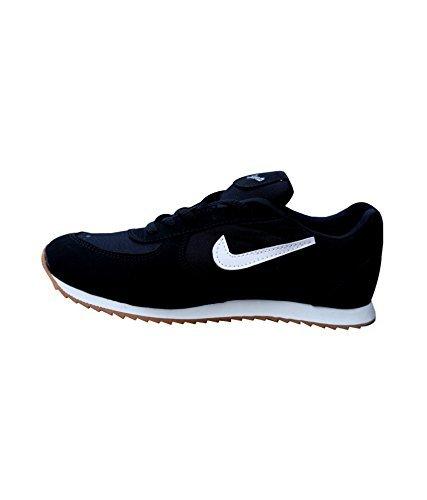 T-Rock Men's Unisex Black Running Shoe (7, Black)
