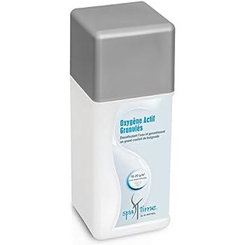Bayrol Quicktest Spatime oxygène Actif Granulés, 1, 0kg