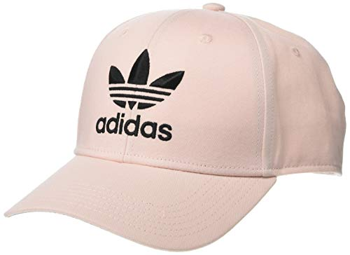 adidas Originals Herren Originals Trefoil Structured Precurve Mütze, Icey Pink/Black, Einheitsgröße (Cap Black Watch)
