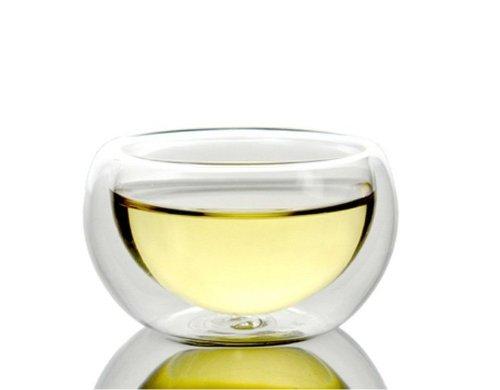 50 ml en verre transparent à double paroi borosilicate thé/café tasse à expresso (Lot de 2)
