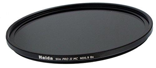 Slim Graufilter PRO II MC (mehrschichtvergütet) ND8x 49mm. Schlanke Fassung + Cap mit Innengriff