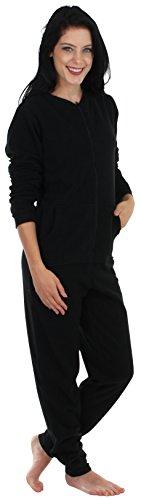 Sleepyheads Pyjama ohne Füße für Damen aus Fleece, bunter Onesie, Overall, Schlafanzug (SH1018-1011B-EU-XL)