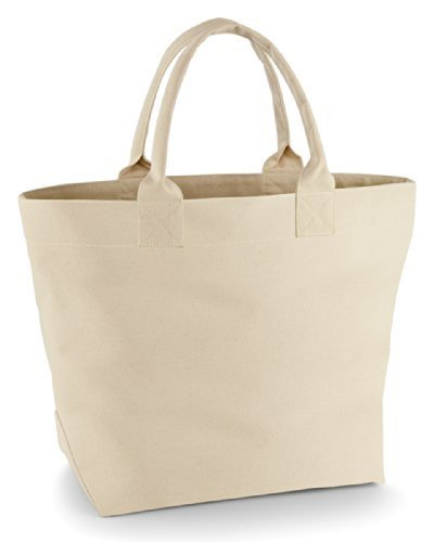 Quadra Stoff Deck Tasche - Marineblau/Natürlich Natürlich