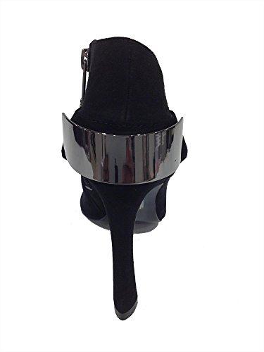 Guess Chaussure Élégante Bottine De La Femme. Modèle Fl4smesue09. Noir