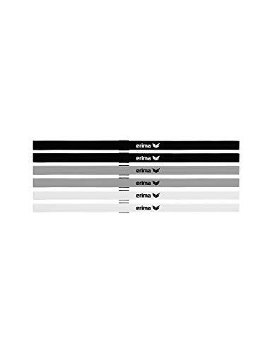 Erima Unisex- Erwachsene Haarbänder 6 er Set, Diverse, 1