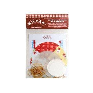 Price comparison product image Luxury Stylist Kilner 108 Pce Haberdashery Jam Jar Seal Kit