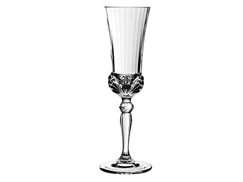 Unbekannt RCR Aurea Kelche Flûte, Glas, Transparent, Packung zu 6 Stück, 14 cl