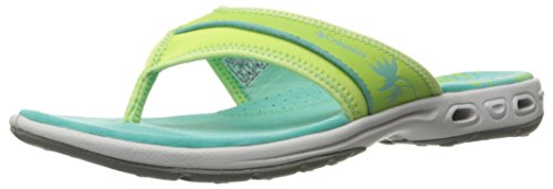 Tank Vent (Columbia Women's Kambi Vent Athletic Sandal, Jade Lime/Aquarium, 5 B US)