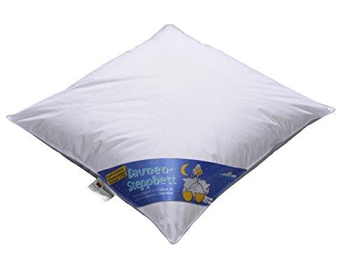 *ARO Artländer 9043900 Nobless Baby-Bett, Sibirische weiße neu Gänsedaune 90% , Klasse 1, PREMIUMKLASSE, Größe 80 x 80 cm*