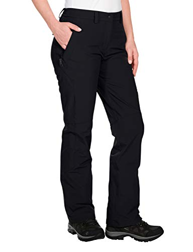 Jack Wolfskin Damen Softshellhose Activate, black, 44, 1500072-6001044