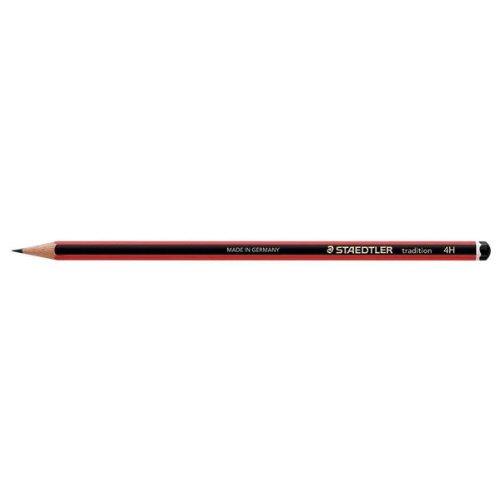 Staedtler 110Tradition Pencil Cedar Wood 4H ref 110–4h [Pack 12]