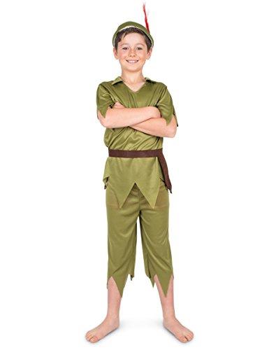 Generique Kostüm - Elfe für Jungen 134/140 (7-9 Jahre) (Jungen Kostüme)