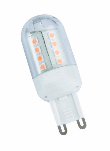 LED G9 Leuchtmittel Birne, 2,5 W, 200 lm, 3000 K, 1-er Blister, Durchmesser 2,3 cm, Höhe 5,3 cm R955-01