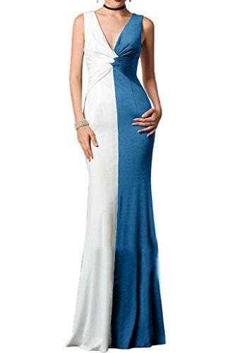 Missdressy - Robe - Sirène - Femme Bleu