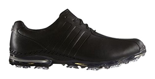 adidas Adipure Tp, Chaussures de Golf Homme, Noir (Coreblack/Coreblack/Darksilvermetallic), 46 EU