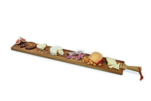 BOSKA Käse/Tapas Brett Friends Größe XL, Holz, braun, 113 x 15 x 2 cm -