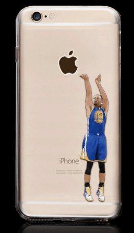 Coque Iphone 5 Nba - Coque iPhone 5/5S SE curry maillot bleu