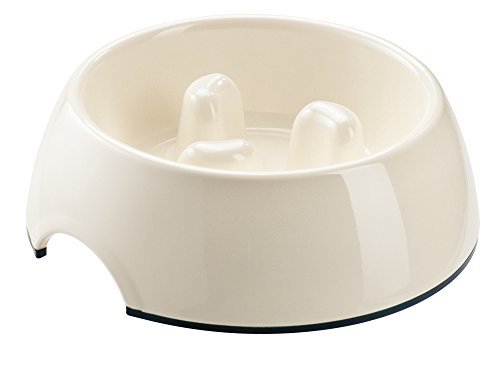 Hunter Melamin-Napf Feeding Control, Größe: L, 22 x 7,5 cm, weiß