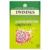 Twinings Pomegranate Green Tea Bag - Pack of 20, 40 g