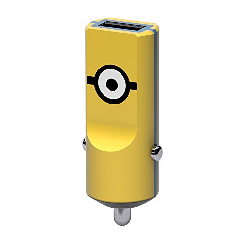 Tribe Minions – Kfz Auto Ladegerät 2.4 A I Fast Charge I 1 Port USB Ladegerät für iPhone 7, 6/6S, 5, Samsung Galaxy S6, iPad Tablet PC etc. – Carl