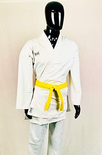 Dr. KO Karate-Gi: Anzug Karateanzug; Karate-Anzug; Karate und Kampfsportzubehör; für Männer, Frauen und Kinder (Weiß, 130)