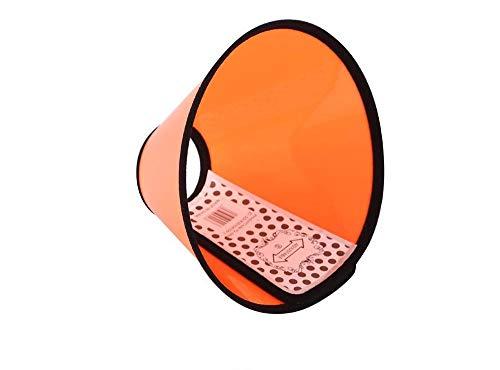 Plastikkegel-Haustier-Produkte Anti Biss und Kratzen eines Kragens für Katzen- Kreis-Hundeschutz-Schönheits-Heilung (Color : Neck 56-63cm, Size : -)