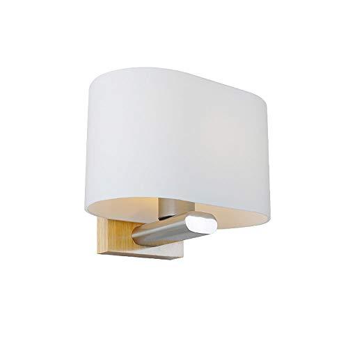 Glas Eiche Moderne Minimalistische Holz-LED-Schlafzimmer Nachtlampe Gang Veranda Indoor Nordic Wood Wand Lampe -