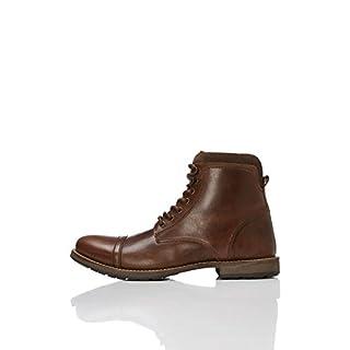 FIND Herren Max Zip Worker Klassische Stiefel, Braun (Brown), 40 EU