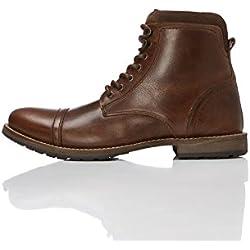 FIND Max Zip Worker Botas Clasicas Hombre, Marrón (Brown), 42 EU